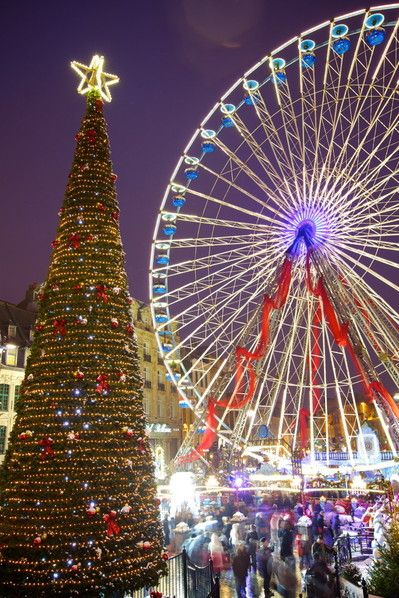 One of the Best Christmas Markets in Europe 2014: LILLE, FRANCE #EuropeanChristmasMarkets