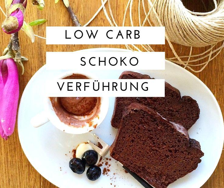 Low Carb Schokokuchen einfach und schnell zubereitet. Schmeckt super schokoladig und ist schön saftig. Rezept auf meinem Blog: https://schoenblick.wordpress.com/2016/03/08/low-carb-schokokuchen/