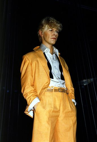 David Bowie Figure at Madame Tussaud's Wax Museum, London, England   by Striderv