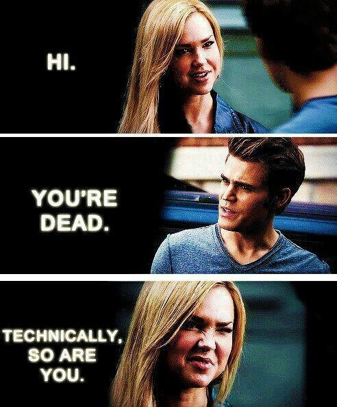 Lexi and Stefan #TVD
