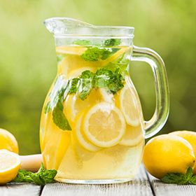 homemade lemonade from A Rule Against Murder by Louise Penny. inspired by her book A Rule Against Murder.   #louisepenny #books