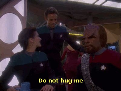 Star Trek Gifs/ Deep Space Nine.  For me, DS9 is the best of the later Star Trek series.