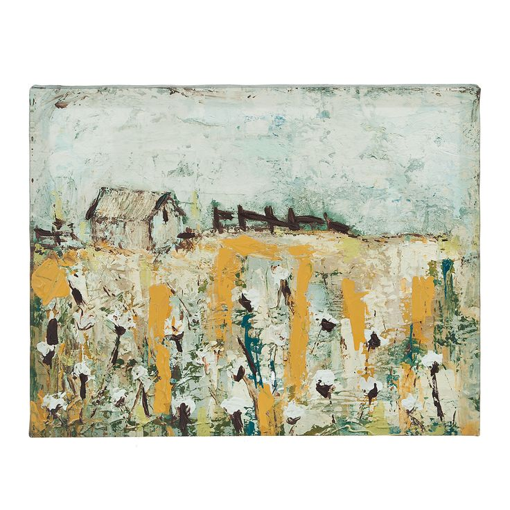 Cotton Farm Canvas Art Print | Kirklands