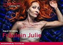 "August Strindberg, ""Fräulein Julie"" - Theater in der Josefstadt Wien"
