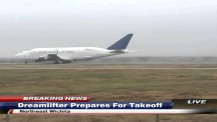 Boeing Dreamlifter Takeoff Jabara