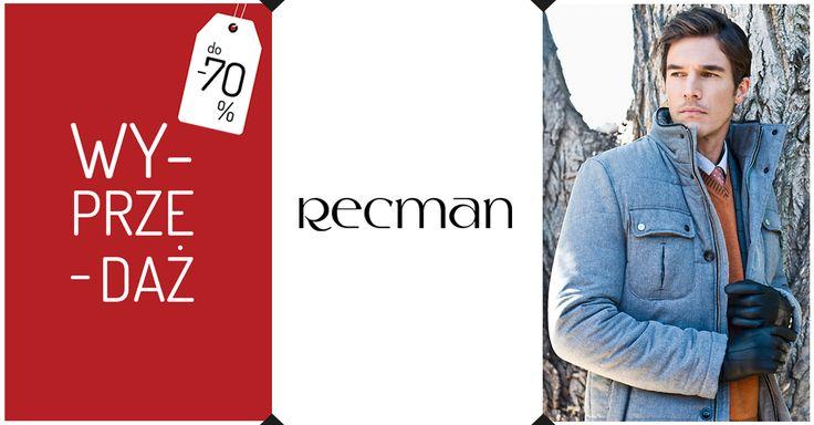 Wyprzedaż w Recman trwa! Sprawdź w salonach i na Recman24.com szeroki asortyment w obniżonych cenach. bit.ly/Recman_Wyprzedaż