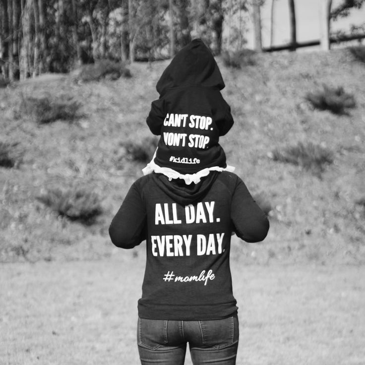 Mom Life | Motherhood | All Day Every Day | Can't Stop Won't Stop | #momlife | #kidlife | Toddler Life | Motherhood shirts | Motherhood sweatshirt | Mommy and me | #ownyourtomorrow #ad