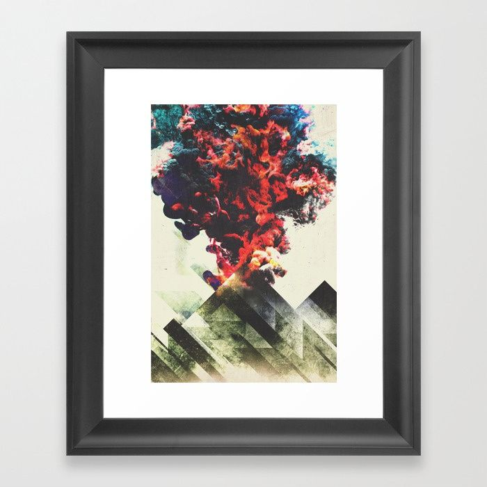 Smoky mountains Framed Art Print by HappyMelvin | Society6