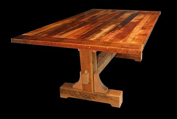 Hey, I found this really awesome Etsy listing at https://www.etsy.com/listing/129302155/reclaimed-wood-mill-boss-dining-table