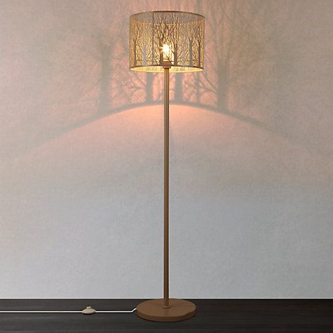 Buy John Lewis Devon Floor Lamp, Taupe, Large Online at johnlewis.com Love this but has I have no room for a floor lamp I'm buying a table lamp.
