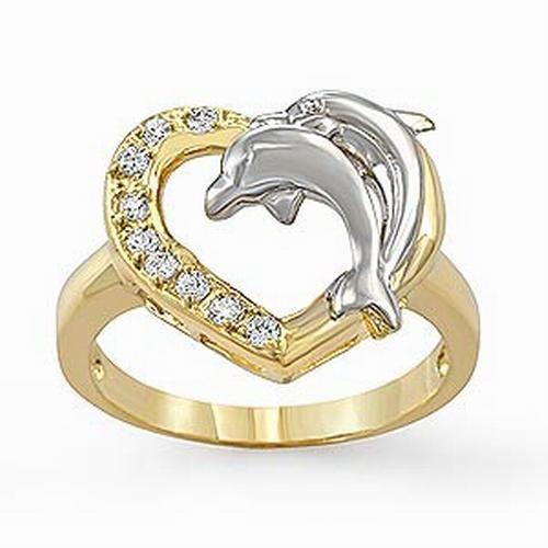 Corazón de delfines