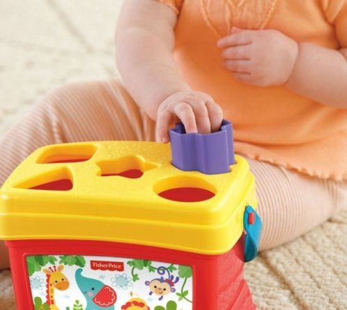 First-Blocks-Basics-Brilliant-Baby-Fisher-Price-Toy-Shape-New-Baby-039-s-replacement
