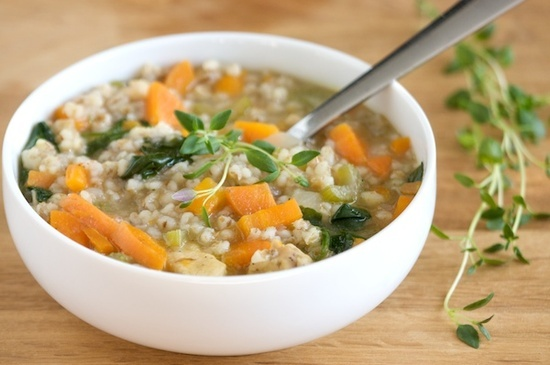 So Much to Say: Chicken Barley Soup | Recipes: Soup | Pinterest