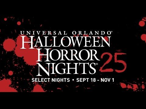 Now on sale - tickets and packages for Halloween Horror Nights® 2015 | Universal Orlando® NOT for little kids - which will be obvious if you watch the video.