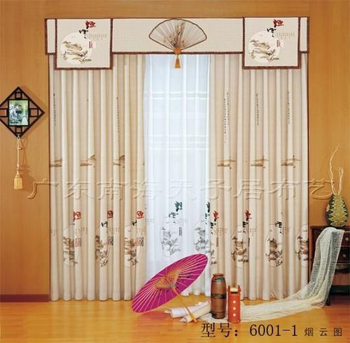 Asian style curtain