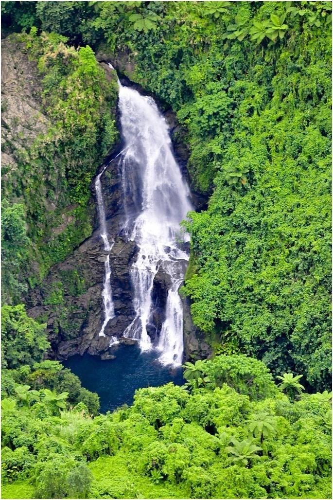 waterfall - vanuatu