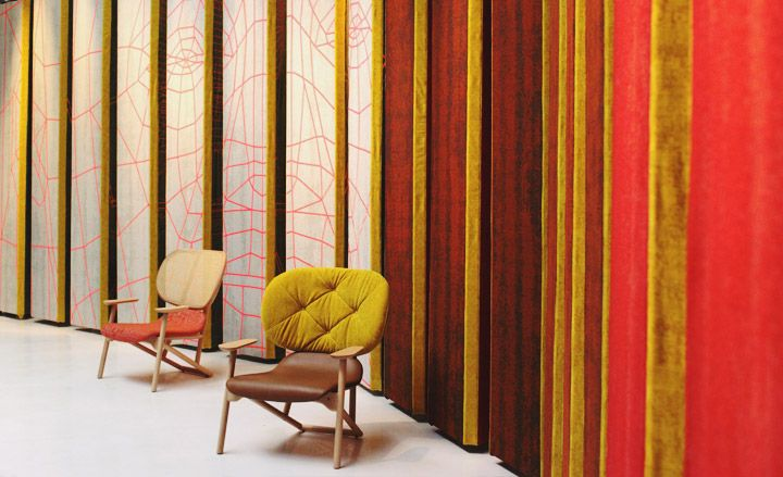 """""""The Revolving Room"""" by Patricia Urquiola for Kvadrat and Moroso"""