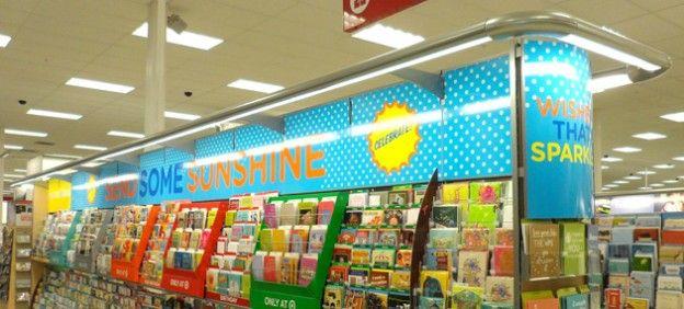 Display Design - Carlton Cards - Send some sunshine - Instore Display | Middleton Group Inc.