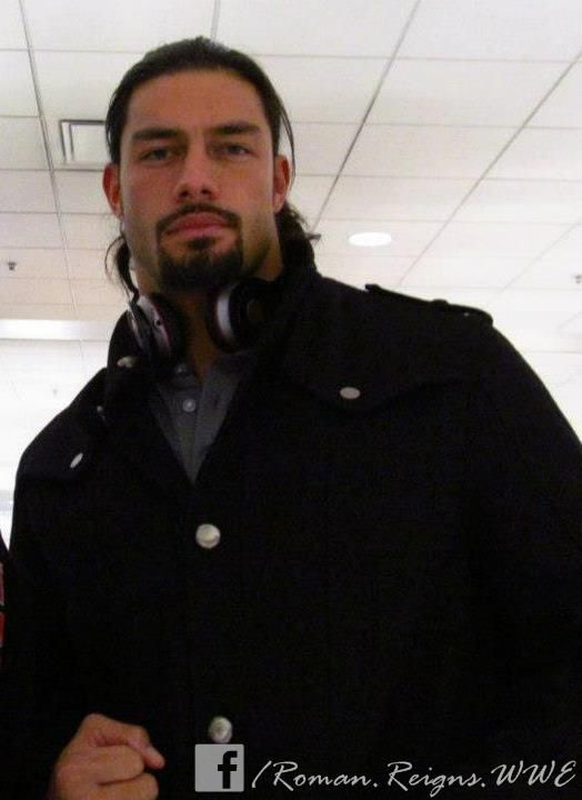Roman Reigns. He's so beautiful