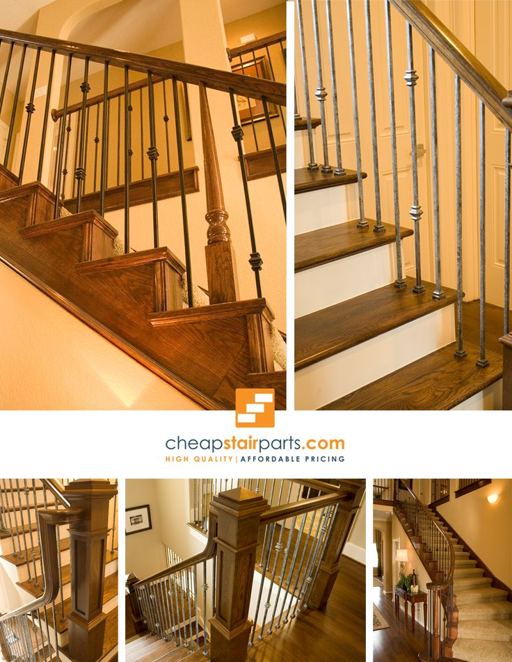 38 best versatile modern iron baluster stair patterns images on pinterest iron balusters - Give home signature look elegant balustrades ...