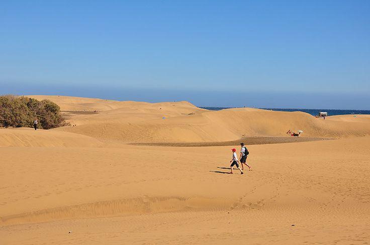 Les dunes de Maspalomas, aux Canaries - My Sweet Escape