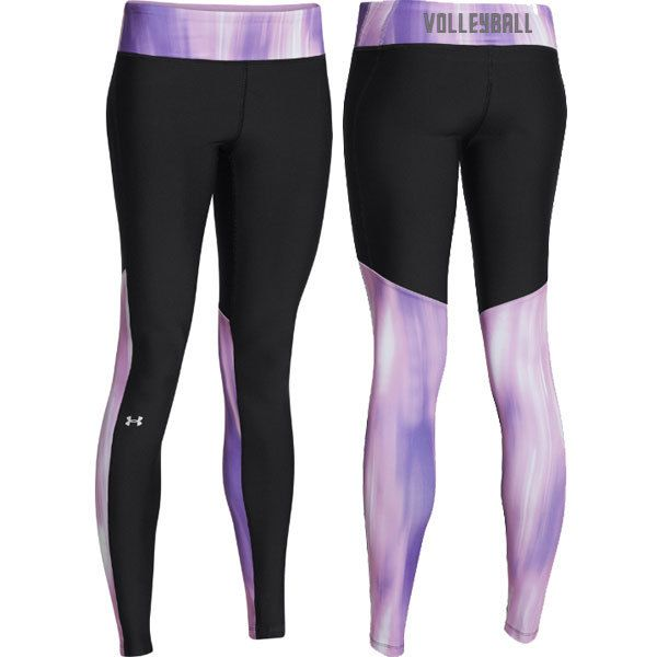 NEW at All Volleyball! Under Armour Volleyball Alpha Legging - Purple $44.99