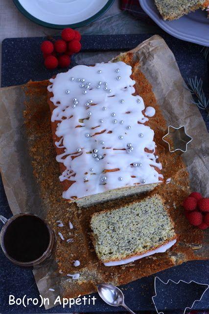 Blog Bo(ro)n Appétit: Ciasto cytrynowo-pomarańczowe z makiem
