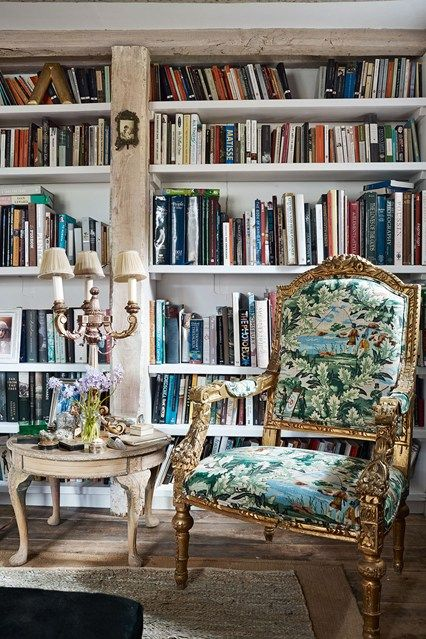 Discover bookshelf ideas on HOUSE - design, food and travel by House & Garden - including these bookshelves in a restored Sussex farmhouse.