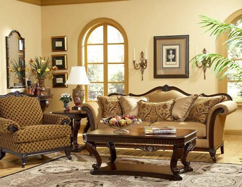 12 best old world tuscan brown livingroom images on for Sofas en sevilla liquidacion