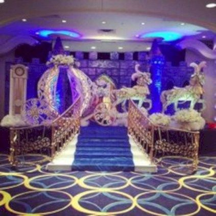 cool 38 Amazing Cinderella Themed Wedding Decoration Ideas  http://viscawedding.com/2018/01/21/38-amazing-cinderella-themed-wedding-decoration-ideas/