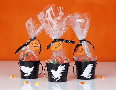 cute hallowen party favors {tutorial} | Little Birdie Secrets