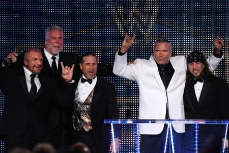 DX, nWo, Shawn Michaels Interrupt Sting vs. Triple H at WWE WrestleMania 31