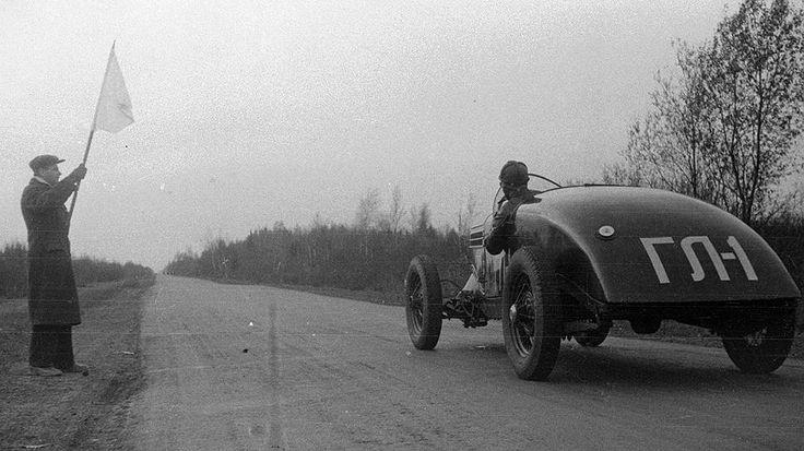 ГАЗ ГЛ-1 / GAZ GL-1 - Fastest Soviet race car before the war.