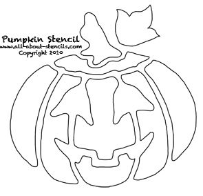 56 best halloween stencils images on pinterest halloween free pumpkin stencils and halloween crafts pronofoot35fo Images
