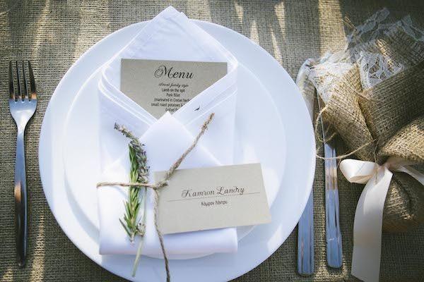 Romantic Old Farmhouse Wedding on Crete