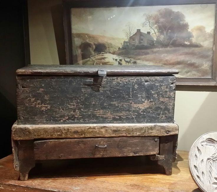 Miniature handmade sugar chest dated 1741   Primitive CabinetsPrimitive  FurniturePrimitive AntiquesRustic. 25 best Sugar Chest images on Pinterest   Southern furniture