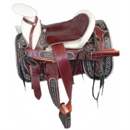 Charro estilo occidental caballo de silla Montura Charra ...