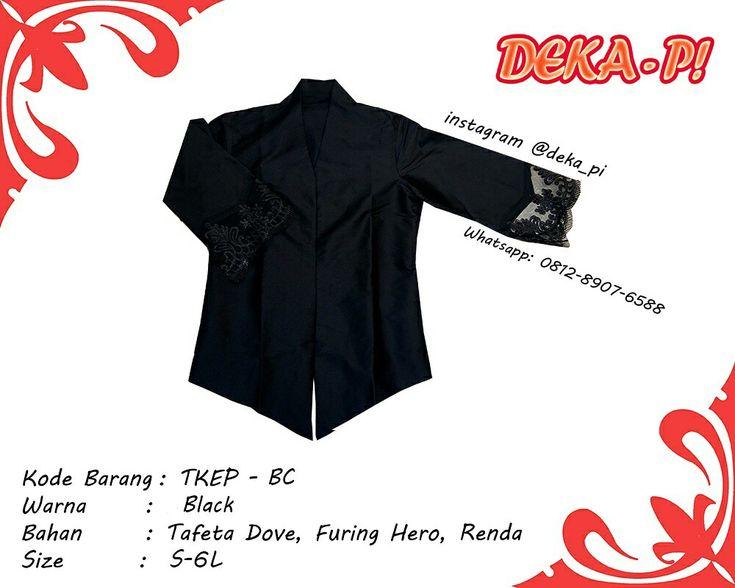 NEW ARRIVAL!!!   Kebaya Renda Black!!!   IDR 120K ajaaaaaa sist!!!   Feel the experience of Black!!!   SHOP HERE :  www.tokopedia.com/deka-pi Www.shopee.com/DEKA_PI www.bukalapak.com/deka_pi   GO GRAB IT FAST!!!   #fashion #party #pesta #kondangan #kondanganootd #ootd #fashionblogger #fashiongram #style #dress #gaun #onlineshopping #jualbaju #fashionart #fashionable #womenfashion #fashionista #fashioncewek #fashionstyle #jualanku #ootdindonesia #jualbajumurah #renda #kebayarenda #kerancang…
