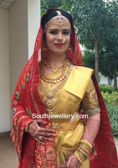 Radhika Daughter Rayanes Wedding Jewellery photo