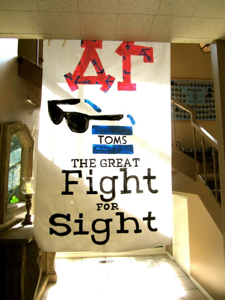 Toms: The Great Fight for Sight!