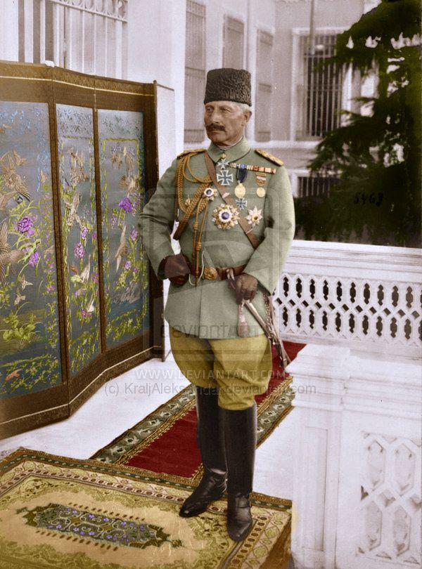 Wilhelm II, in the uniform of a Turkish Field Marshal