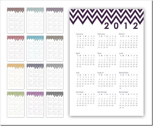 24 Best Calendars Images On Pinterest Free Printable Free