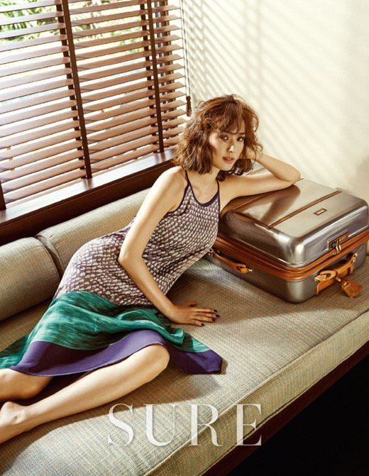 Son Tae Young in Sure August 2015 Look 2