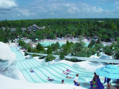 Disney's Blizzard Beach: Water Park in Orlando Florida-- oh I love to try these..