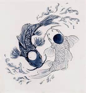 koi and dragon yin and yang - Bing images