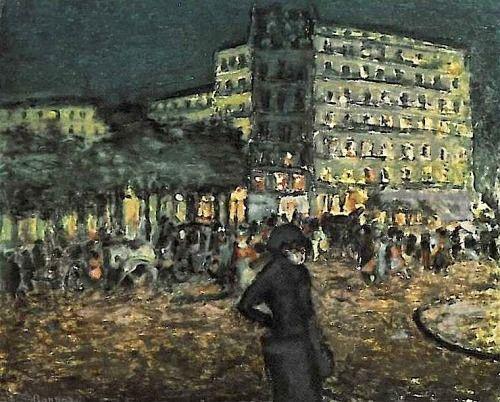 huariqueje: Place Pigalle, La Nuit - Pierre Bonnard,...