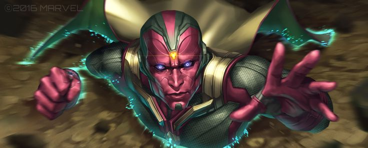 Vision Marvel Future Fight banner ; New skill ver1.9.5