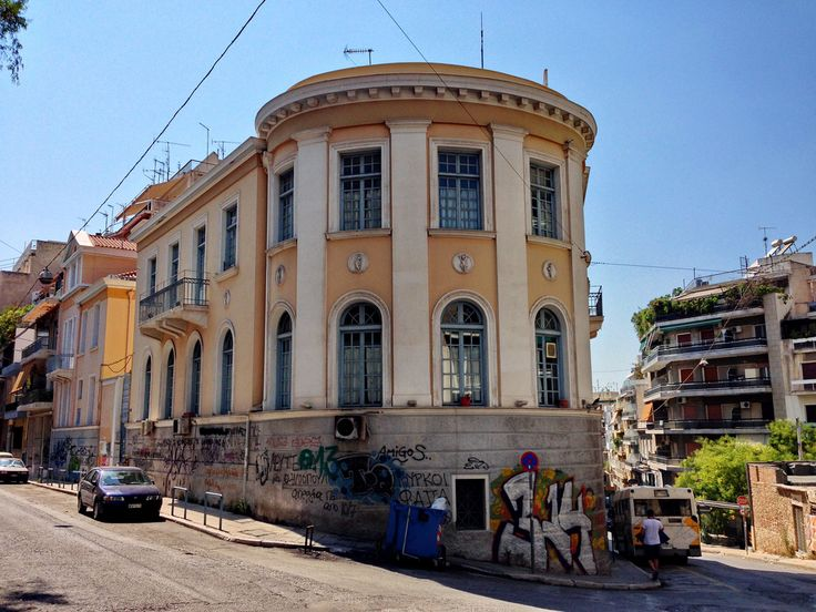 Οικία Ευγένιου Πλοκ (46ο Γυμνάσιο), Ασκληπιού 183 & Λάμπρου Κατσώνη