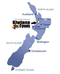 Otorohanga official Kiwiana Town, New Zealand | kiwi culture NZ