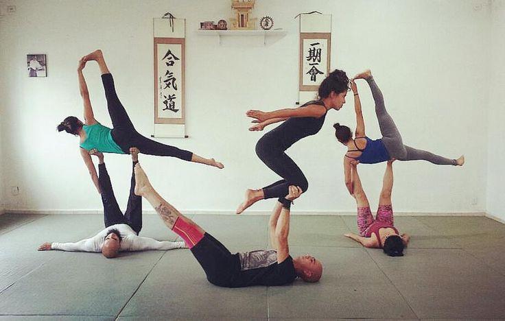 #Acro #Yoga Center #Brazil